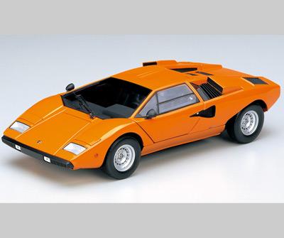 Kyosho Lamborghini Countach L400 Orange 08321p In 1 18 Scale Mdiecast