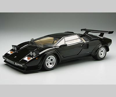 Kyosho Lamborghini Countach Lp500 Black 08322k In 1