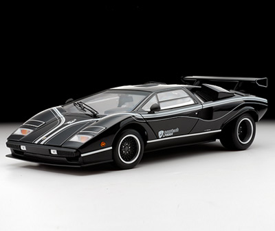 Kyosho Lamborghini Countach Lp500r Black W White