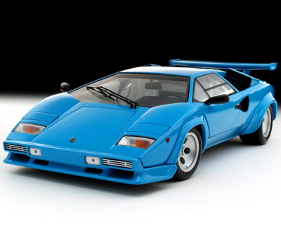 Kyosho Lamborghini Countach Lp5000qv Blue 08327bl In