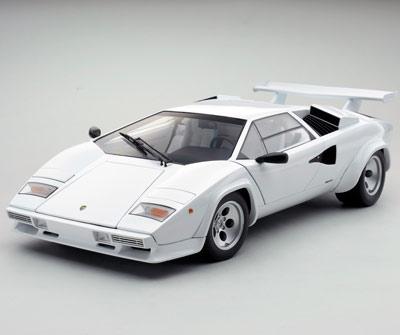 Kyosho Lamborghini Countach Lp5000s White W White