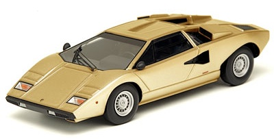 make up lamborghini countach lp400 gold em 167g in 1 43 scale mdiecast. Black Bedroom Furniture Sets. Home Design Ideas
