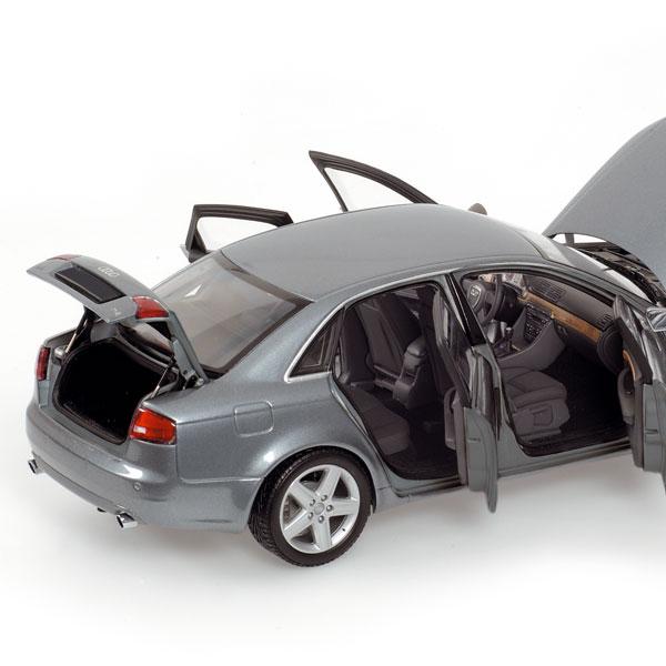 Minichamps 2005 Audi A4 Dolphin Grey Metallic 100