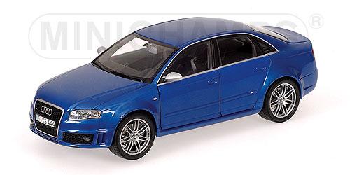 Minichamps 2006 Audi Rs4 Blue Metallic 100 014600 Im