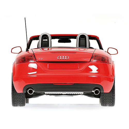 Minichamps: 2006 Audi TT Roadster - Red Metallic (100 015032) im 1:18 maßstab