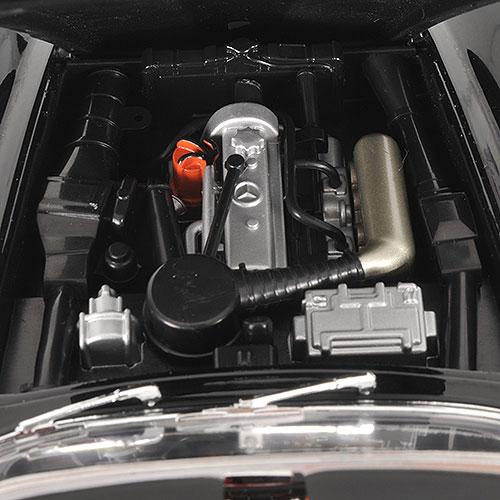 Minichamps: 1955 Mercedes-Benz 190 SL (W121) - Black (100 037030) in 1:18  scale