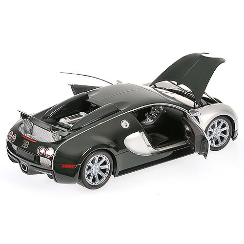 Bugatti Veyron Green: Minichamps: 2009 Bugatti Veyron Centenaire Edition