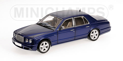 Minichamps 2004 Bentley Arnage T Sedan Blue Metallic