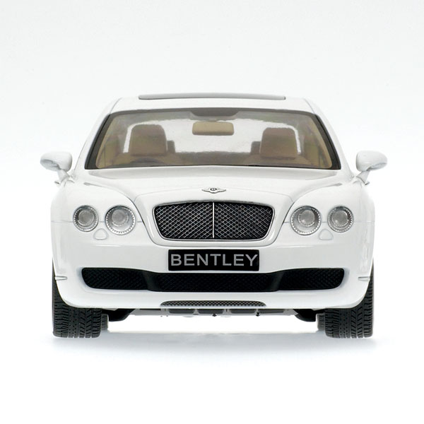 White Bentley Flying Spur Hire: Minichamps: 2005 Bentley Continental Flying Spur