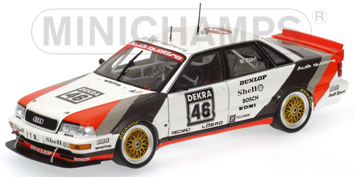 List Of Cars >> Minichamps: Audi V8 Quattro - Walter Roehrl - Team Sms ...