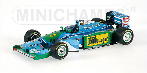 Minichamps: Benetton Ford B194  Michael Schumacher  World Champion