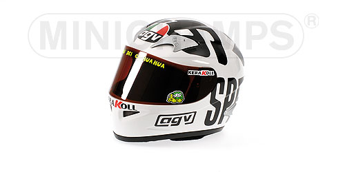 Minichamps: AGV Helmet - Valentino Rossi - World Champion MotoGP 2004 (327 040096) in 1:2 scale