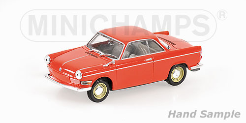Minichamps: 1960 BMW 700 Sport Coupe - Red (400 023721) in 1:43 scale