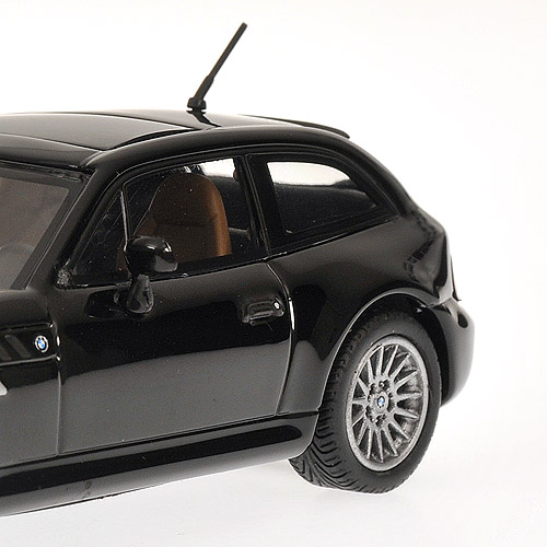 Bmw Z3 Black: Minichamps: 1999 BMW Z3 Coupe