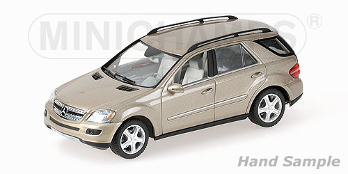 Minichamps: 2005 Mercedes-Benz M-Class (W164) - Gold (400 034502) in 1:43 scale