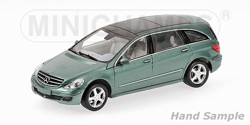 Minichamps: 2005 Mercedes-Benz R-Class (W251) - Green Metallic (400 034601) im 1:43 maßstab