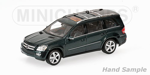 Minichamps: 2006 Mercedes-Benz GL-Class (X164) - Green Metallic (400 035001) in 1:43 scale