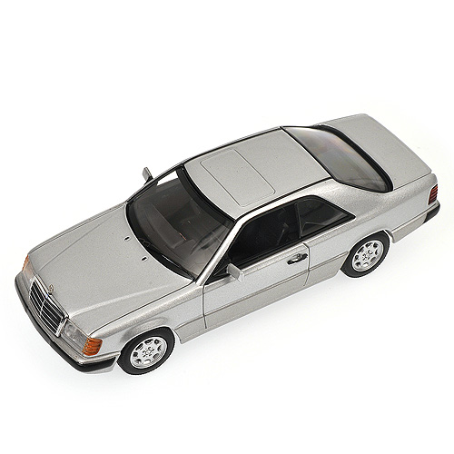 Minichamps: 1990 Mercedes-Benz 300 CE Coupe (W124) - Silver (400 037021) in 1:43 scale