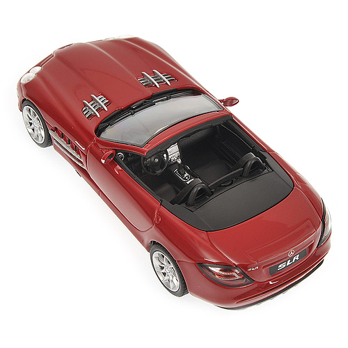 Minichamps: 2007 Mercedes-Benz SLR - McLaren Roadster - Red (400 037131) im 1:43 maßstab