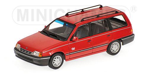 minichamps 1989 opel kadett e caravan red 400 045910 in 1 43 scale mdiecast. Black Bedroom Furniture Sets. Home Design Ideas