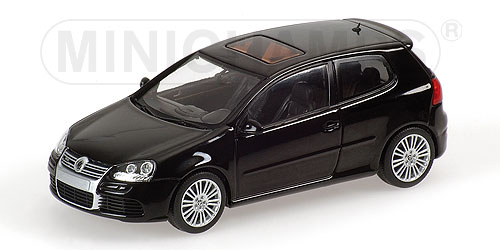 Minichamps 2005 Volkswagen Golf R32 Black 400 054501 In 143