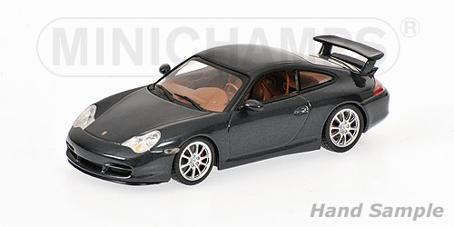 Minichamps: 2003 Porsche 911 GT3 - Grey Metallic (400 062025) in 1:43 scale