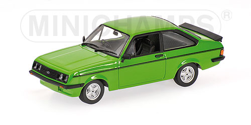 Minichamps: 1976 Ford Escort RS2000 - Green (400 084301) in 1:43 scale