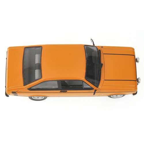 Minichamps: 1975 Ford Escort 1600 Sport - Orange (400 084471) im 1:43 maßstab