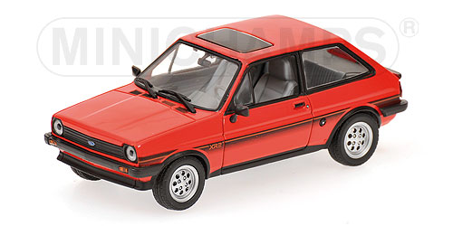 Minichamps: 1978 Ford Fiesta XR2 - Red (400 085162) in 1:43 scale