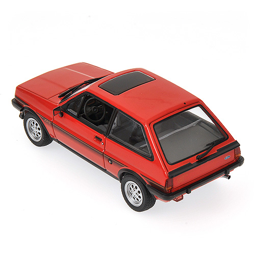 Minichamps: 1978 Ford Fiesta XR2 - Red (400 085162) в 1:43 масштабе