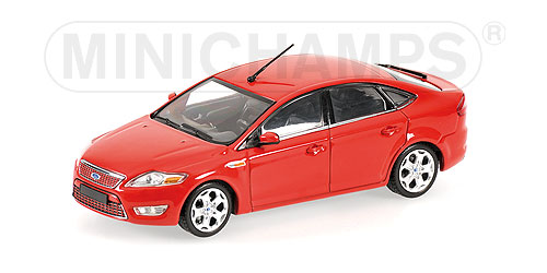 Minichamps: 2007 Ford Mondeo - Red (400 086001) в 1:43 масштабе