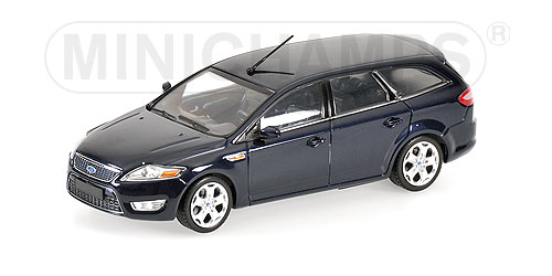 Minichamps: 2007 Ford Mondeo Wagon - Dark Blue Metallic (400 086011) в 1:43 масштабе