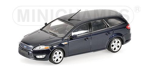 Minichamps: 2007 Ford Mondeo Wagon - Dark Blue Metallic ...