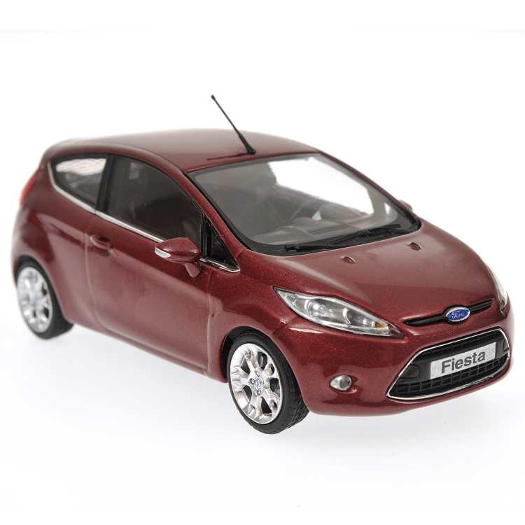 Minichamps: 2008 Ford Fiesta - Purple Metallic (400 088001) im 1:43 maßstab