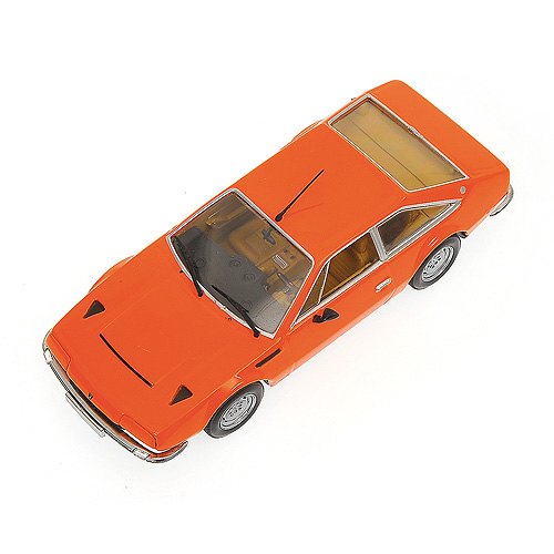 Minichamps: 1974 Lamborghini Jarama - Orange (400 103404) in 1:43 scale