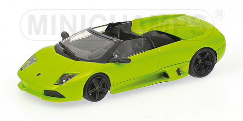 Minichamps: 2007 Lamborghini Murcielago LP640 Roadster - Green (400 103930) in 1:43 scale