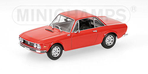 Minichamps: 1970 Lancia Fulvia 1600 HF - Red (400 125701) in 1:43 scale