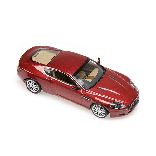 Minichamps: 2009 Aston Martin DB9 - Red Metallic (400 137340) in 1:43 scale