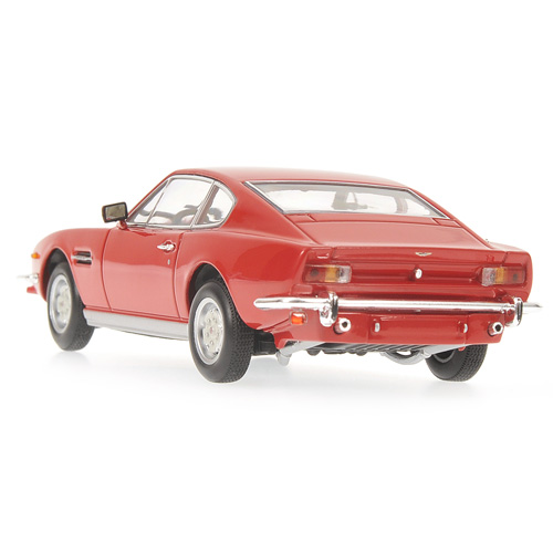 Minichamps: 1987 Aston Martin V8 Coupe - Red (400 137721) im 1:43 maßstab
