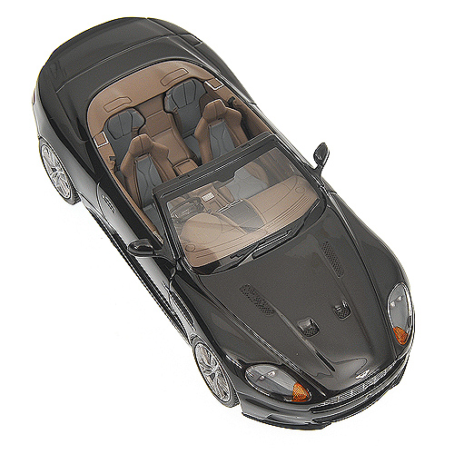 Minichamps: 2010 Aston Martin DBS Volante - Black (400 137930) in 1:43 scale