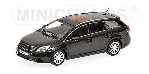 Minichamps: 2009 Toyota Avensis Break - Black Metallic (400 166910) в 1:43 масштабе