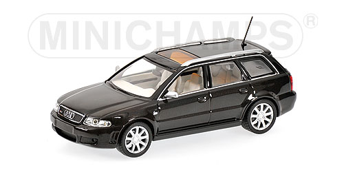 Minichamps: 2000 Audi RS 4 - Black (430 019316) в 1:43 масштабе