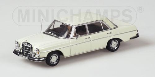 Minichamps 1968 mercedes benz 300 sel 6 3 white 430 for International mercedes benz milwaukee