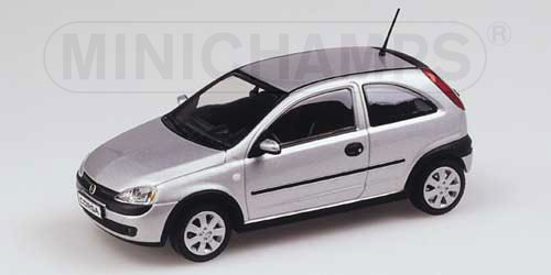 minichamps 2000 opel corsa star silver 430 040301 in 1 43 scale mdiecast. Black Bedroom Furniture Sets. Home Design Ideas
