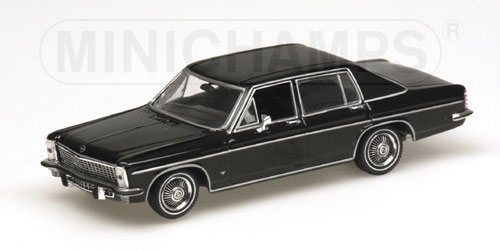 minichamps 1969 opel diplomat black 430 046070 in 1. Black Bedroom Furniture Sets. Home Design Ideas