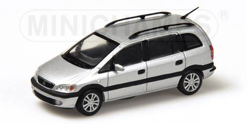 Minichamps 1999 Opel Zafira Silver 430 048002 In 1 43