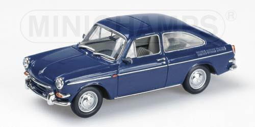 Minichamps 1966 Volkswagen 1600 Tl Fastback Blue 430 055320 In 1 43 Scale Mdiecast