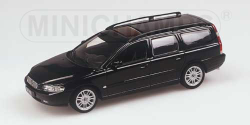 Minichamps 2000 Volvo V70 Wagon Black 430 171210 In 1