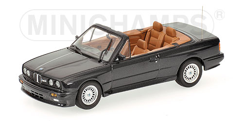 Minichamps: 1988 BMW M3 Cabriolet - Diamond Black Metallic (431 ...