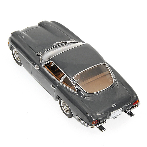 Minichamps: 1966 Lamborghini 400GT 2+2 - Grey (436 103310) in 1:43 scale